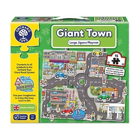 Puzzle gigant de podea orasul (15 piese) giant town jigsaw, Orchard Toys*