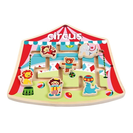 Puzzle labirint la circ, New Classic Toys*