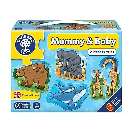 Puzzle mama si copilul mummy and baby, Orchard Toys*