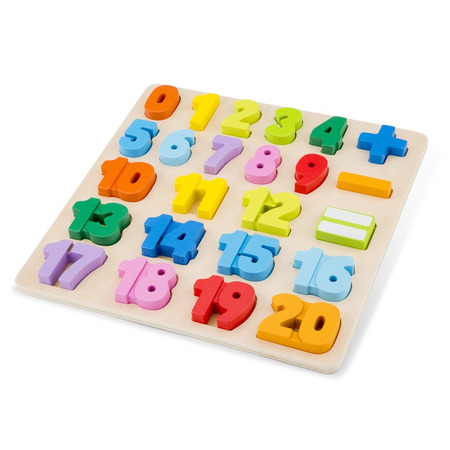 Puzzle numere, New Classic Toys*