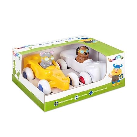 Set 2 piloti de curse - cute racer, Vikingtoys*