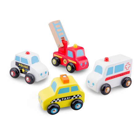 Set 4 vehicule, New Classic Toys*