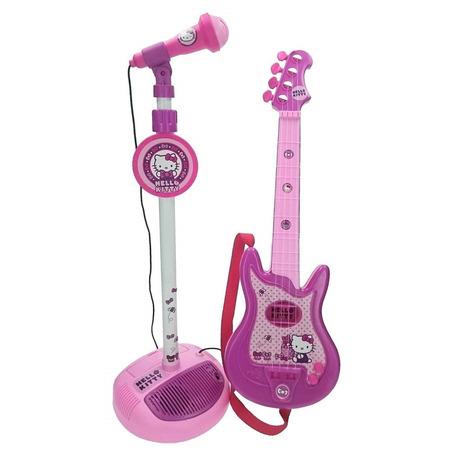 Set chitara si microfon hello kitty, Reig Musicales*