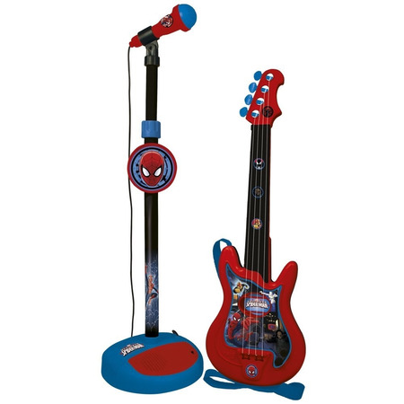 Set chitara si microfon spiderman, Reig Musicales*