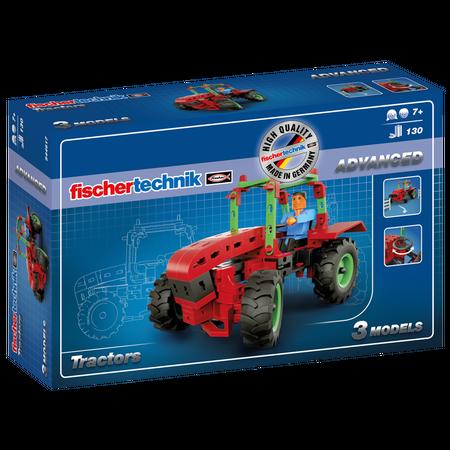 Set constructie advanced tractors - 3 modele, Fischertechnik*