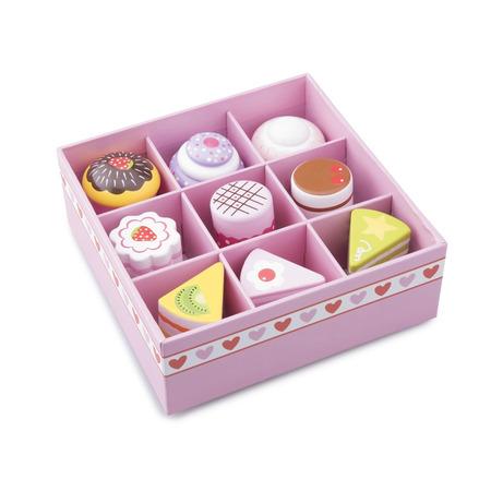 Set de 9 prajituri in cutie de cadou, New Classic Toys*