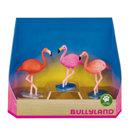 Set flamingo - 3 figurine, Bullyland*