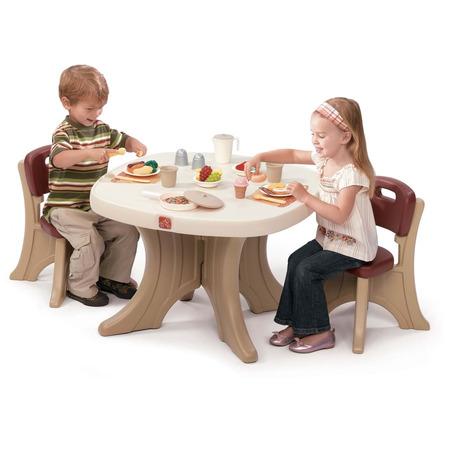 Set masuta + 2 scaune pentru copii, Step2*