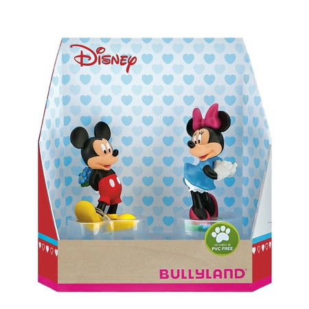 Set minnie si mickey love, Bullyland*