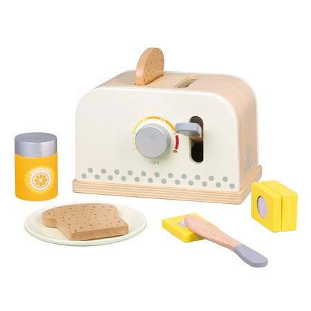 Set toaster - alb, New Classic Toys*