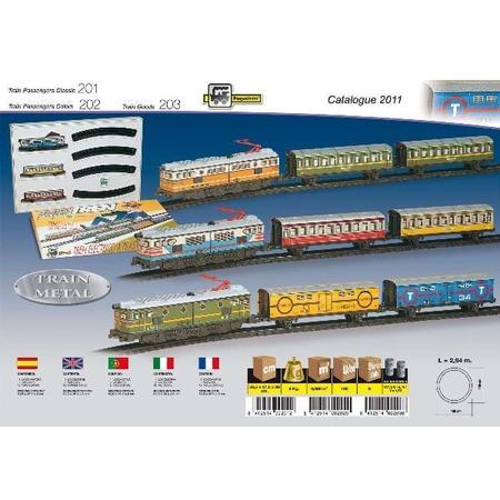 Trenulet electric - calatori (colorat), Pequetren*