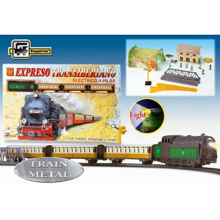 Trenulet electric calatori expresul transiberian, Pequetren*