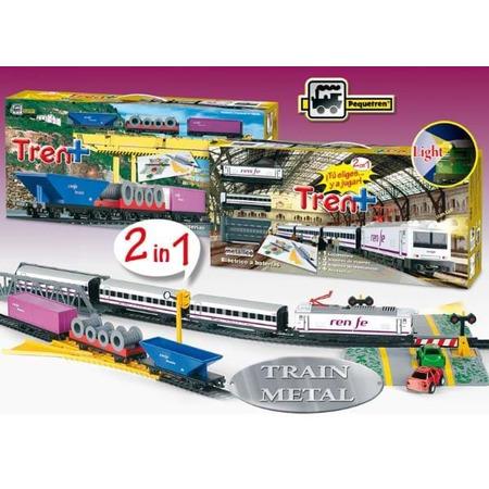 Trenulet electric calatori si marfa renfe tren+, Pequetren*