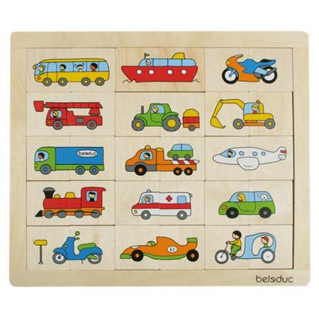 Puzzle Amesteca si potriveste Transport*