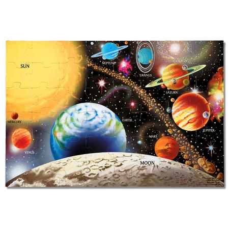 Puzzle de podea Sistemul Solar Melissa and Doug*