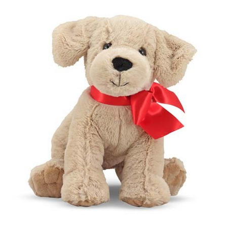 Jucarie din plus Catelusa Labrador Auriu Sunny Melissa and Doug*