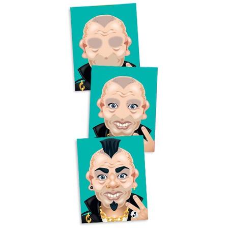 Colectia de abtibilduri - Personaje caraghioase*