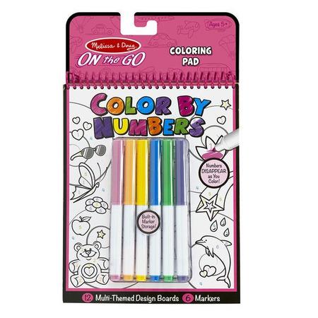 Carnet de colorat pe numere pentru fetite Melissa and Doug*