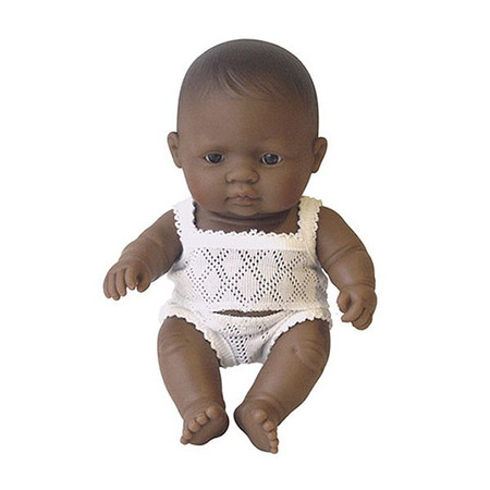 Papusa bebelus fetita latinoamericanca Miniland 21 cm*