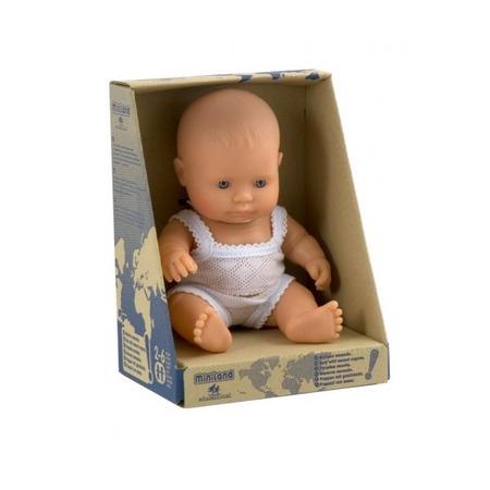 Papusa Baby european fata Miniland 21cm*