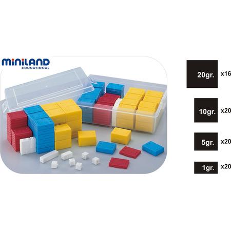 Set 76 greutati din plastic - Miniland*