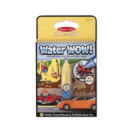 Apa Magica Carnet de colorat Vehicule Melissa and Doug*
