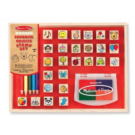 Stampile Obiectele preferate Melissa and Doug*