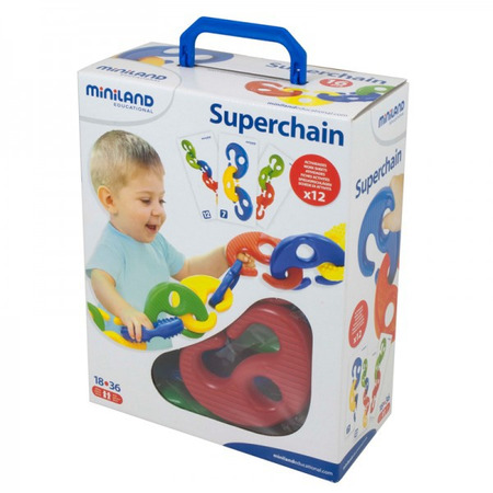 Joc Superchain 16 piese Miniland*