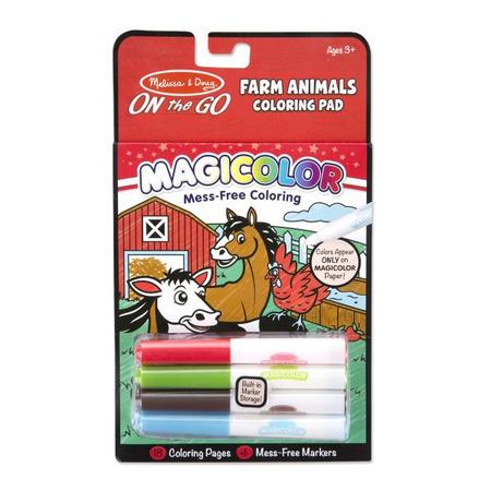 Carnetel de colorat Magicolor Animale de la ferma*