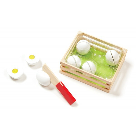 Joc de sortat din lemn Eggs Melissa and Doug*
