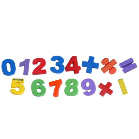 Set 54 numere magnetice Miniland*