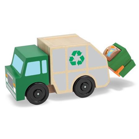 Masina de gunoi din lemn Melissa and Doug*