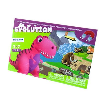 Joc magnetic Descopera Evolutia speciilor - Miniland*