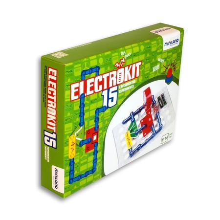 Puzzle electronic cu 15 experimente - Miniland*