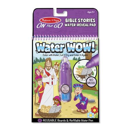 Carnet de colorat Apa Magica cu Povesti din Biblie - Melissa and Doug*