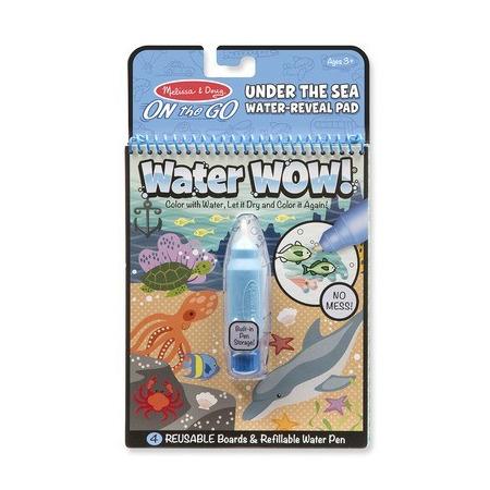 Carnet de colorat cu Apa magica Oceanul*