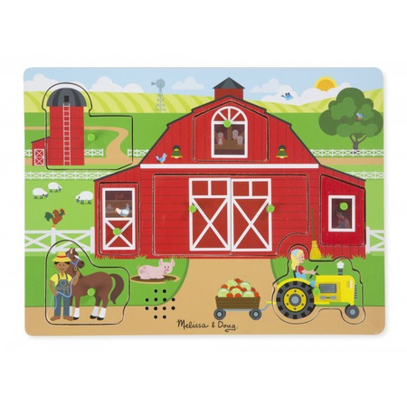 Puzzle sonor Ferma Animalelor - Melissa and Doug*