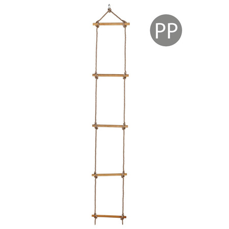Scara cu trepte de lemn PP 2,5 m (1,80 m) 5 trepte*