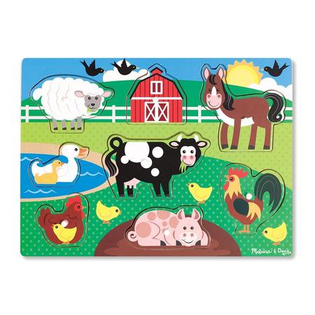 Puzzle din lemn Ferma Animalelor*