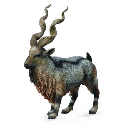 Figurina Capra Salbatica Tadjik Markhor*