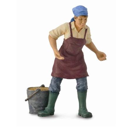 Figurina Femeie Fermier Collecta*