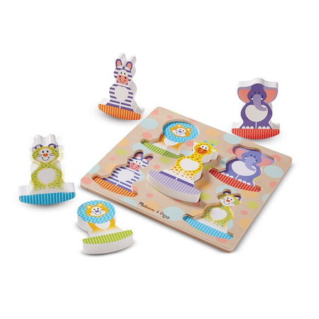 Puzzle bebe Safari Balance Melissa and Doug*