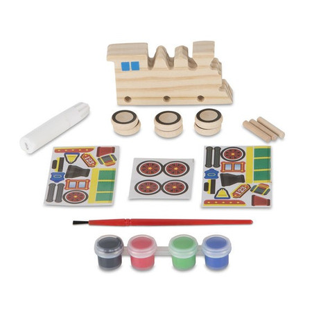Coloreaza-ti locomotiva din lemn Melissa and Doug*