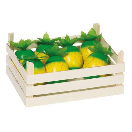 Ananas din lemn in ladita - Goki*