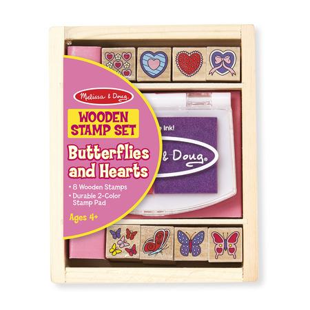 Stampile cu fluturasi si inimioare - Melissa & Doug*