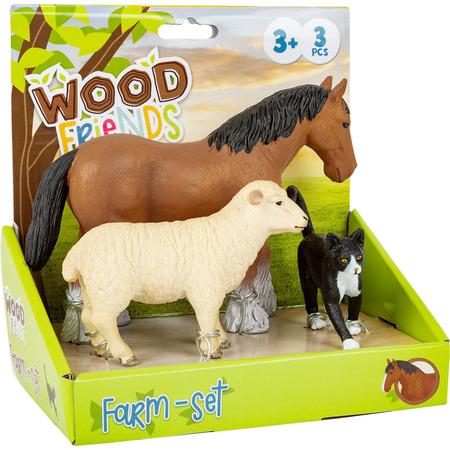 Set 3 figurine Animale de la Ferma*