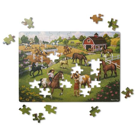 Primul meu puzzle eco din carton Calutii - Melissa & Doug*