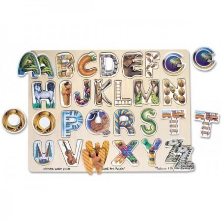 Puzzle Alfabet Art Melissa and Doug