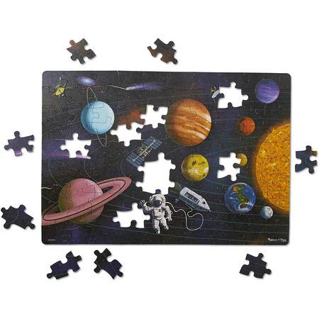 Primul meu puzzle eco din carton Spatiul - Melissa & Doug*