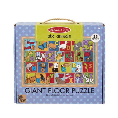 Primul meu puzzle de podea eco Alfabetul Animalelor - Melissa and Doug*